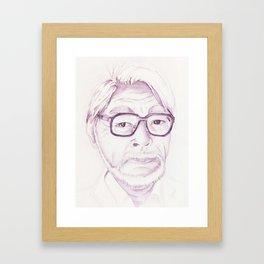Miyazaki Hayao Framed Art Print
