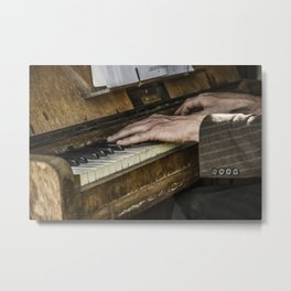 Old Hands...Gypsy Hands Metal Print