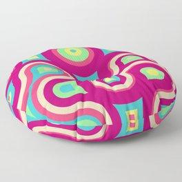 Happy Colors No5, African Inspiration Floor Pillow