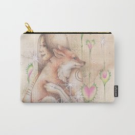Darling Fox and me Carry-All Pouch