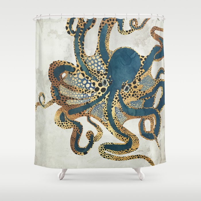 Underwater Dream VI Shower Curtain
