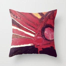 Behind the Shutter Throw Pillow
