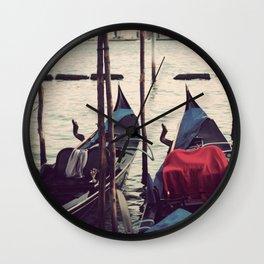 Italian Boat Dock Wall Clock