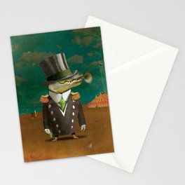 Circus-Circus: What a Croc Stationery Cards