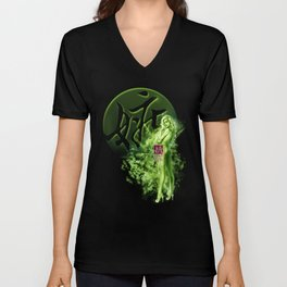 7 Things | Envy: Always Greener Pastures Somewhere  -illustration/ Art Print (7/7) Unisex V-Neck