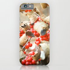 Winter Berries iPhone 6s Slim Case