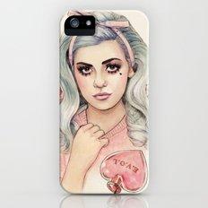 L.O.V.E   E.V.O.L iPhone (5, 5s) Slim Case