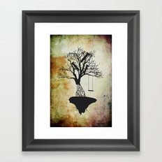 When The Wind Blows. Framed Art Print