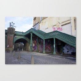 Stairs Glasgow Canvas Print