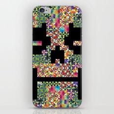 The Black smiles iPhone & iPod Skin