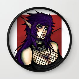 Cryptic queen Wall Clock