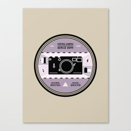 Chicago Print - Camera Shops Canvas Print