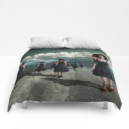 Road of girls Comforters