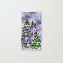 Fawn in the forest Hand & Bath Towel