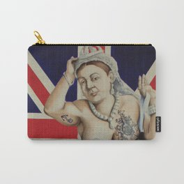 Queen Victoria Carry-All Pouch