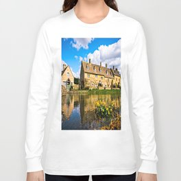 Lower Slaughter (The Cotswolds) Long Sleeve T-shirt