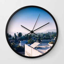 The Rooftops Wall Clock