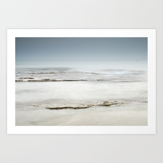 """Sea of ​​tranquility"" Art Print"