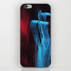 Blue Guy iPhone & iPod Skin