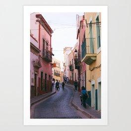Guanajuato Streets. Art Print