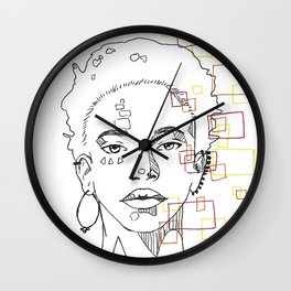Willow Smith Wall Clock
