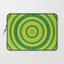 Clover Rings Pattern Laptop Sleeve