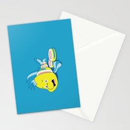 Flounder Sushi Stationery Cards