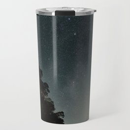Milky way landscape at the coast of 'Colonia, Uruguay' Travel Mug