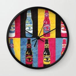 Cerveza Águila Pop Art Wall Clock