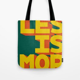 LES IS MOR Tote Bag