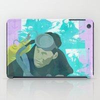 scuba iPad Cases featuring Scuba Steve by Even In Death