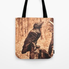 Raven (Slavanic paganism) Tote Bag