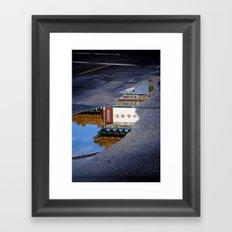 Hole To China Framed Art Print