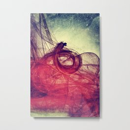 Of Your Own Doing Metal Print