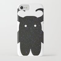 taurus iPhone & iPod Cases featuring Taurus by Leandra Lilly Dreyer