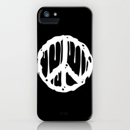 Toxic Peace iPhone Case