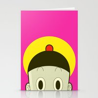 poker Stationery Cards featuring Poker Face by Cyborgking