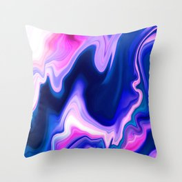 Mineral Core Throw Pillow