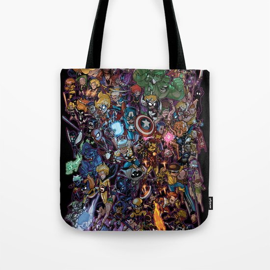 Lil' Marvels Tote Bag
