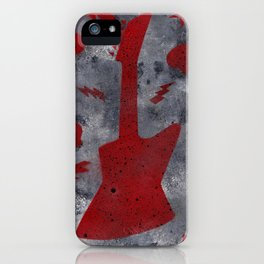 The Red Guitar iPhone Case