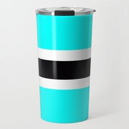 Flag of Botswana Travel Mug