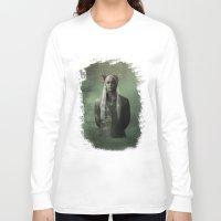 thranduil Long Sleeve T-shirts featuring The Great King Thranduil by LindaMarieAnson