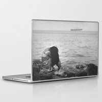 alone Laptop & iPad Skins featuring Alone  by PhotoStories