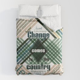 Time to change Comforters