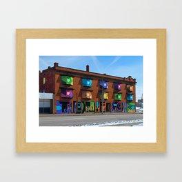 Toledo Proud Framed Art Print