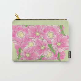 Iowa in Flowers Carry-All Pouch