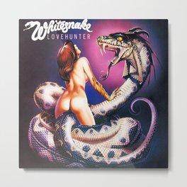 Whitesnake Love Hunter Metal Print