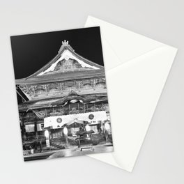 Zenko-Ji, Buddhist temple, Nagano, Japan Stationery Cards