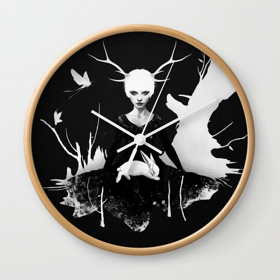 Space Within Wall Clock