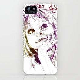 Crearé mi propio destino iPhone Case